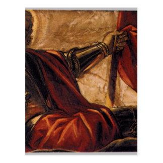 Allegory of the Scuola di San Teodoro Tintoretto Postcard