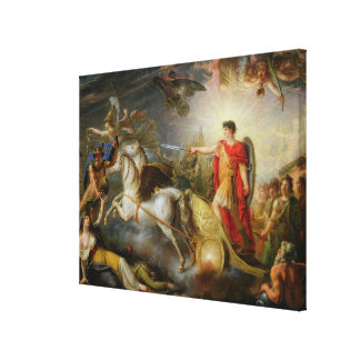 Allegory of the Surrender of Ulm Canvas Print