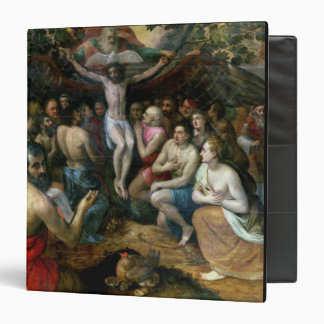 Allegory of the Trinity (oil on panel) Binder