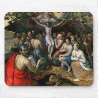 Allegory of the Trinity (oil on panel) Mouse Pad