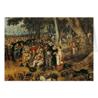 Allegory of the Truce of between the Card