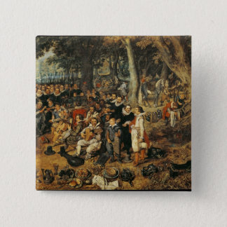 Allegory of the Truce of between the Pinback Button