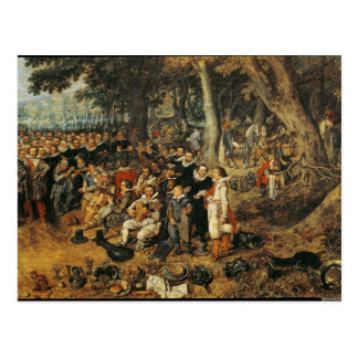 Allegory of the Truce of between the Post Cards