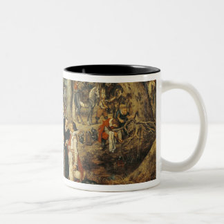 Allegory of the Truce of between the Two-Tone Coffee Mug