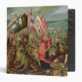 Allegory of the Turkish Wars 3 Ring Binder