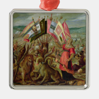 Allegory of the Turkish Wars Metal Ornament