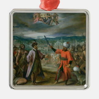 Allegory of the Turkish Wars Christmas Tree Ornament