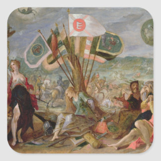 Allegory of the Turkish Wars Stickers