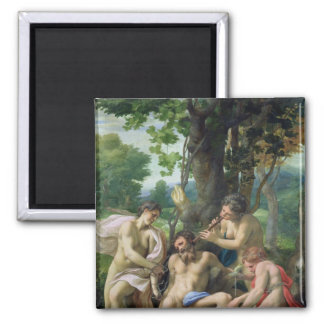Allegory of the Vices, 1529-30 Refrigerator Magnet