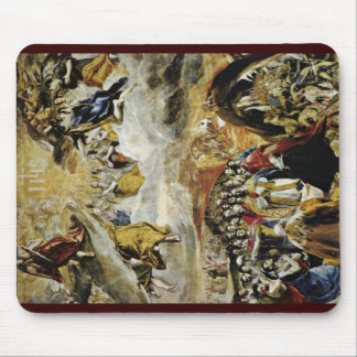 Allegory Of The Victory Of Lepanto By Greco El Mouse Pads