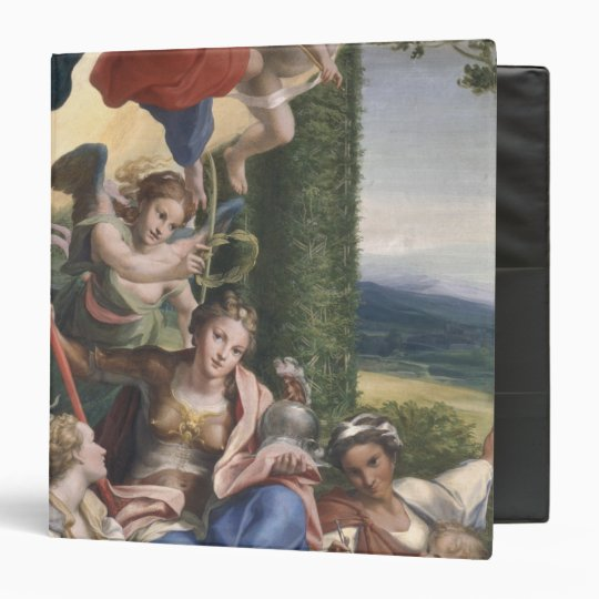 Allegory of the Virtues, c.1529-30 3 Ring Binder