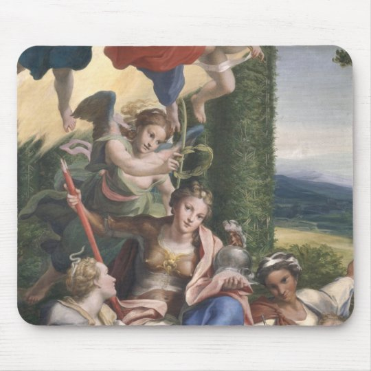 Allegory of the Virtues, c.1529-30 Mouse Pad