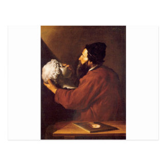 Allegory of Touch by Jusepe de Ribera Postcard