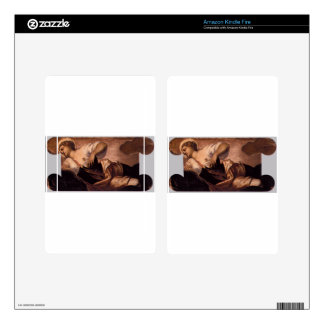 Allegory of Truth by Tintoretto Decal For Kindle Fire