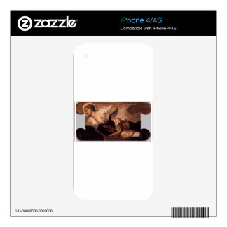 Allegory of Truth by Tintoretto Decals For iPhone 4