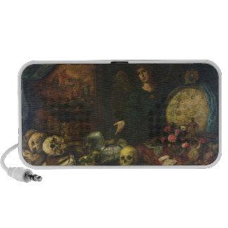 Allegory of Vanity, 1650-60 (oil on canvas) Mini Speaker
