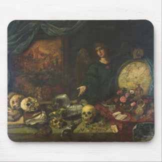 Allegory of Vanity, 1650-60 (oil on canvas) Mouse Pads