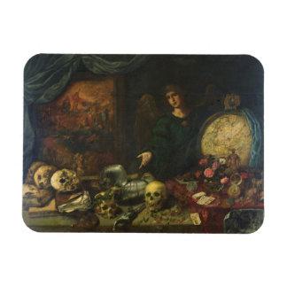 Allegory of Vanity, 1650-60 (oil on canvas) Rectangular Photo Magnet