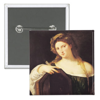 Allegory of Vanity Button