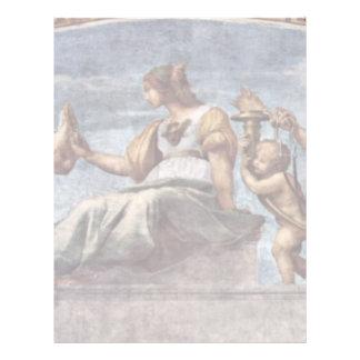 Allegory Of Virtue By Raffael (Best Quality) Customized Letterhead