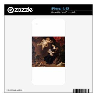 Allegory of Virtue by Theodoor van Thulden iPhone 4S Skins