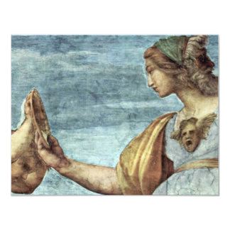 Allegory Of Virtue Detail By Raffael (Best Quality Personalized Announcements