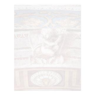Allegory Of Virtue Detail By Raffael (Best Quality Letterhead Template