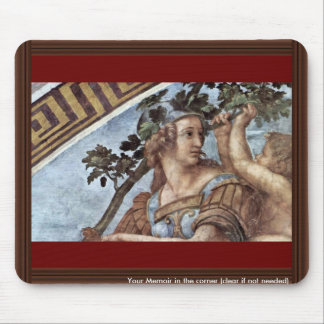 Allegory Of Virtue Detail By Raffael (Best Quality Mouse Pad