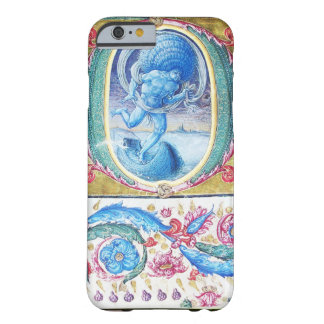 ALLEGORY OF WIND ANTIQUE FLORAL MINIATURE MONOGRAM BARELY THERE iPhone 6 CASE