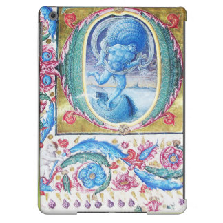 ALLEGORY OF WIND ANTIQUE FLORAL MINIATURE MONOGRAM iPad AIR COVER