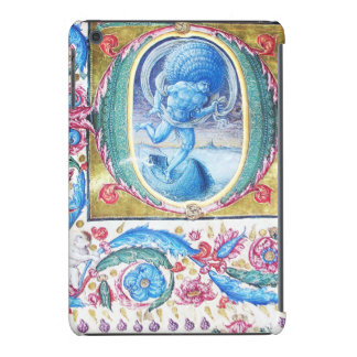 ALLEGORY OF WIND ANTIQUE FLORAL MINIATURE MONOGRAM iPad MINI COVERS