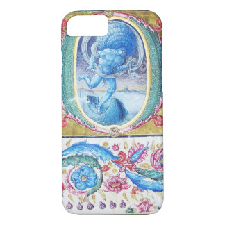 ALLEGORY OF WIND ANTIQUE FLORAL MINIATURE MONOGRAM iPhone 7 CASE