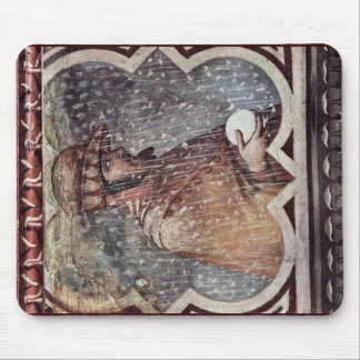 Allegory Of Winter Medallion Of The Bad Governmen Mouse Pads