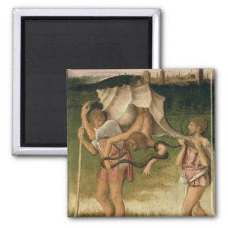 Allegory of Wisdom (oil on panel) Magnet