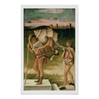 Allegory of Wisdom (oil on panel) Poster
