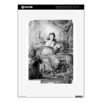 Allegory on Coin of Dordrecht by Abraham van Strij Decal For iPad 3