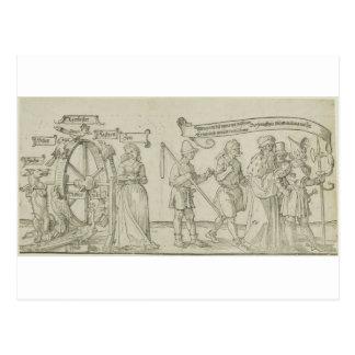 Allegory on Social Injustice by Albrecht Durer Postcard