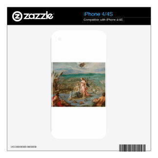 Allegory on the battle of Sisak by Hans von Aachen Skin For iPhone 4