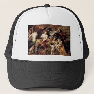 Allegory on the Blessings of Peace by Peter Paul Trucker Hat
