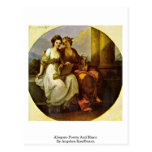 Allegory-Poetry And Music By Angelica Kauffmann Postcards