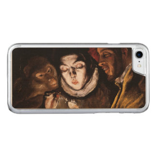 Allegory with Boy Lighting Candle by El Greco Carved iPhone 7 Case