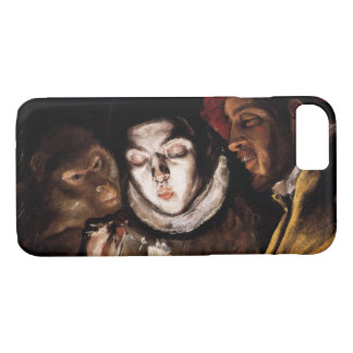 Allegory with Boy Lighting Candle by El Greco iPhone 7 Case