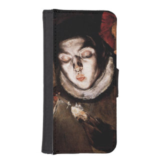 Allegory with Boy Lighting Candle by El Greco iPhone SE/5/5s Wallet Case