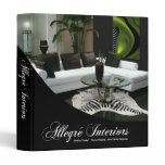 Allegré Home Stager Interior Designer 3 Ring Binder