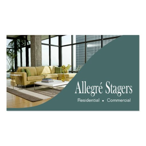 Home staging Business Card Templates | BizCardStudio