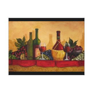 Allegria di Vini WINE CHEERS Impresión En Lienzo