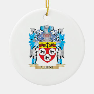 Alleine Coat Of Arms Christmas Ornament