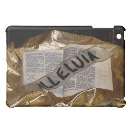 Alleluia (Bible & Sash) iPad Mini Cases