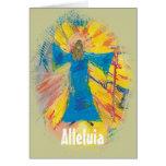 Alleluia Greeting Card