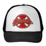 Alleluiah cross in red trucker hat
